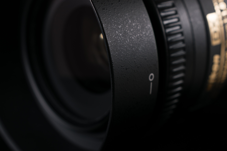 Nikon 35mm camera lens